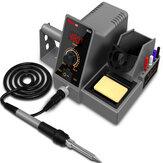 MUSTOOL SD1 SD2 LCD 60W Solda Station Professional PID Solda Iron Station Tool Kit Temperatura ajustável 200-480 ° C com suporte de solda Fio Solda Suporte de ferro e chave de fenda
