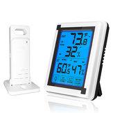 BakeeyデジタルLCDディスプレイホームウェザーステーション温度湿度センサー目覚まし時計