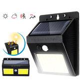 COB Socal Kampçılık Işık Otomatik Algılama Işık Outdoor Su Geçirmez Çalışma Lamba Gece Uyarı Fener 600LM / 1000LM