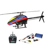 Align T-Rex 300X DOMINATOR DFC 6CH 3D Flying RC Helicopter RTF With A10 Transmitter