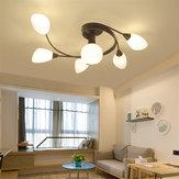 Luz de teto moderna casa quarto Pingente luminárias lâmpada luminária