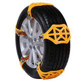 TPU Snow Chain 165-255mm Truck Car Wheel Tyre Anti-skid Safety Driving Belt Yellow for Ice Sand Muddy Offroad