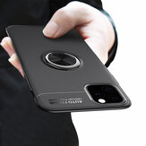 Bakeey 360º Rotating Magnetic Ring Holder Soft Silicone Shockproof Protective Case for iPhone 11 Pro 5.8 inch