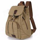 النساء الرجال قماش السفر حقيبة الكتف حقيبة الظهر مدرسة حقيبة الظهر الرباط
