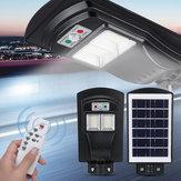 108/216 / 324LED Solar Sokak Işık Hareketi Sensör Bahçe Duvar Lamba, Uzakdan Kumanda Kontrol Cihazı ile