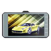 4.0 inch Touch FHD 1080P Dual Lens Car DVR Reversing Camera Video Dash Cam Recorder