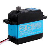 DSSERVO DS3225SG 25 kg 180 ° / 270 ° Bezrdzeniowy wodoodporny metalowy serwomechanizm cyfrowy dla samochodów Baja 1/8 1/10 1/12 samochodów RC