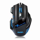 ZUOYA MMR3 Wired Mechanical Gaming Mouse 7 Keys 5500DPI LED Optical USB Mouse Mice Game Mouse Silent/Sound Mouse For PC Computer Pro Gamer