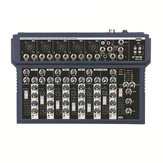Teyun KY-7S 7 Channel Live Studio DJ Audio Mixer Mixing Console 48V Phantom Power for KTV Karaoke
