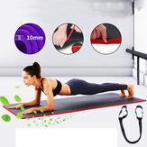 KALOAD 10mm Épais Yoga Tapis Tapis de Formation Exercice Antidérapant Confortable Gymnastique Fitness Tapis en Mousse