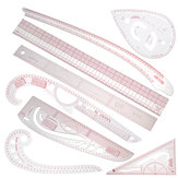 Multi-style Sew French Curve Metric Ruler Measure for Sewing Dressmaking TER Tools