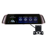 10Inch 1080P Dual Lens HD Car Auto DVR Rearview Mirror Dash Cam Recorder Night Vision