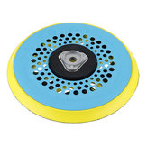 Drillpro 6 Inch 150mm Multi-functional Sanding Polishing Pad Sander Backing Pad Dust Free 17-Hole Hook and Loop