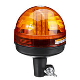 Amber 40 LED 12V-24V Emergency Warning Flash Strobe Rotating Tractor Light Beacon Recovery Warning Signal Light