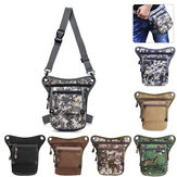 Multi Function Nylon Tactical Waist Bag Outdoor Military Shoulder Bag Drop Leg Pack Messenger Bag For Cycling Camping
