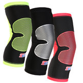 Shuoxin SXB22 1PC Sports Knee Pad Breathable Non-slip Outdoor Basketball Football Fitness Knee Leg Support