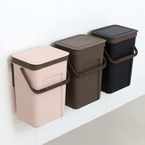 Poubelles de cuisine suspendues murales poubelles pour le stockage des déchets de toilettes de salle de bains