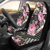 2 PCS Assento de carro dianteiro cobre almofadas protetor de assento auto acessórios interiores