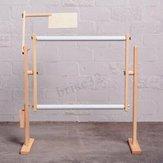 S / M / L Bastidor de bordado con bastidor de puntada cruzada Soporte de madera ajustable Escritorio U