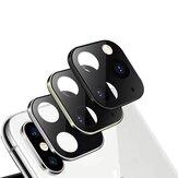 Bakeey Converted Change iPhone XS Max in iphone 11 Pro Second Change in metallo + vetro temperato 2 in 1 telefono antigraffio fotografica lente Protector per iPhone XS Max
