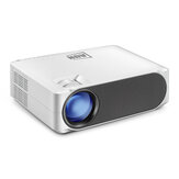 [Version Android] AUN Projecteur AKEY6S complet HD 1080P Résolution 6800 Lumens 1G + 8G WIFI 2.4G Bluetooth 4.0 Système multimédia intégré Beamer vidéo LED Projecteur pour cinéma maison