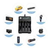 Carregador 4 Slot 3.7v Bateria Carregador Multifuncional Carregador Universal