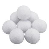 8 Adet / takım 2/3/4/5/7 cm Doğal Kumaş Yün Kurutma Topu Çamaşır Yumuşatıcı Kırışıklık-ücretsiz Kurutma Topu