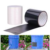 150x20cm PVC Noir / Blanc Super Fix Ruban Adhésif Imperméable Fort Ruban De Réparation De Tape Ruban Auto Fixable Stop Joint De Fuite Ruban Isolant