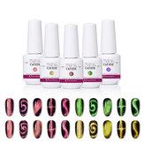 GRAEAR New Glitter Wide Cat Eye Gel 8ML 9D Magic nail polish phototherapy manucure