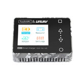 ToolkitRC & URUAV M600 V2 150W 10A DC MINI Smart LCD 1-6S Lipo Battery Balance Charger Discharger With Voltage Servo Checker Receiver Signal Tester Quick Charger Function