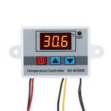 XH-W3000-50 ~ 100 Derece Mikro Dijital Termostat Yüksek Hassasiyetli Sıcaklık Kontrol Anahtarı Isıtma ve Soğutma Doğruluk 0.1