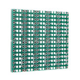10PCS SMT DIP Adapter Converter 0805 0603 0402 Capacitor Resistor LED Pinboard FR4 PCB Board 2.54mm Pitch SMD SMT Turn To DIP