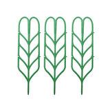 3 Adet Çiçek Bitki Büyüyen Destek Çerçeve Braketi Kafes Bitki s Tırmanma DIY Asma Raf Parçalar