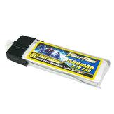500mAh 3.7 v 1s 25c batteria per e-flite blade mcpx/wltoys V922 HCP100
