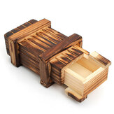 Mini compartimiento de madera Secret Toy Magia Puzzle Caja