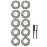 10pcs 25mm Diamond Grinding Wheel Slice Dremel Accessories for Rotary Tools