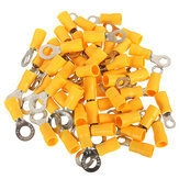 20PCS 4-6mm² Yellow Ring Heat Shrink Electrical Terminals Connectors