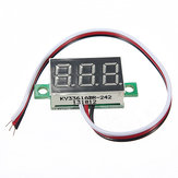 DANIU MINI DC 0-32V 3-Digital LED Display Volt Meter Voltmeter