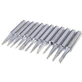 DANIU 12pcs 900M-T Series Solder Iron Tips for Electronic Soldering Iron
