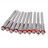 10Pcs Screw Rotary Mandrel Dremel Accessory for Rotary Tools
