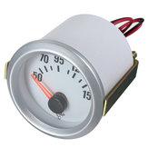Temperatura do óleo elétrico calibre celsius temperatura rosto branco azul LED novo