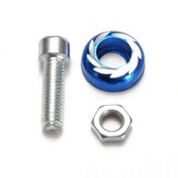 M5/5mm Windscreedn Screw Bolt Blue Universal Motor Bike Body Faring Kit
