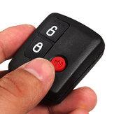 3 Przyciski Czarny klucz Shell Case dla Ford Territory Wagon