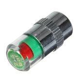36 PSI Lastik Basıncı İndikatör Valfı Şase Kapağı LED Gösterge Göz Uyarısı