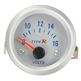 8-16V Volt Pointer Voltmeter Meter Gauge Voltage