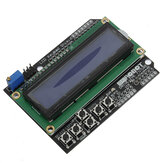 Keypad Shield Backlight Biru Untuk Robot LCD 1602 Board