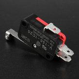 5Pcs AC 250V 15A V-156-1C25 SPDT Roller Lever Micro Switch