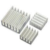 3pcs Kit de Refrigeração Dissipador de Calor de Alumínio Adesivo para Refrigerar Raspberry Pi