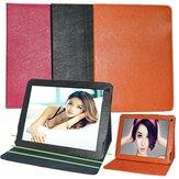 Folio de la PU cubierta de la caja soporte plegable de cuero para la tableta v99 Chuwi