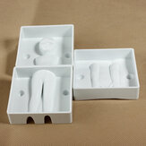 3PCS People Shape Fondant Cake Decorating Tools Cookie Cutters Mold
